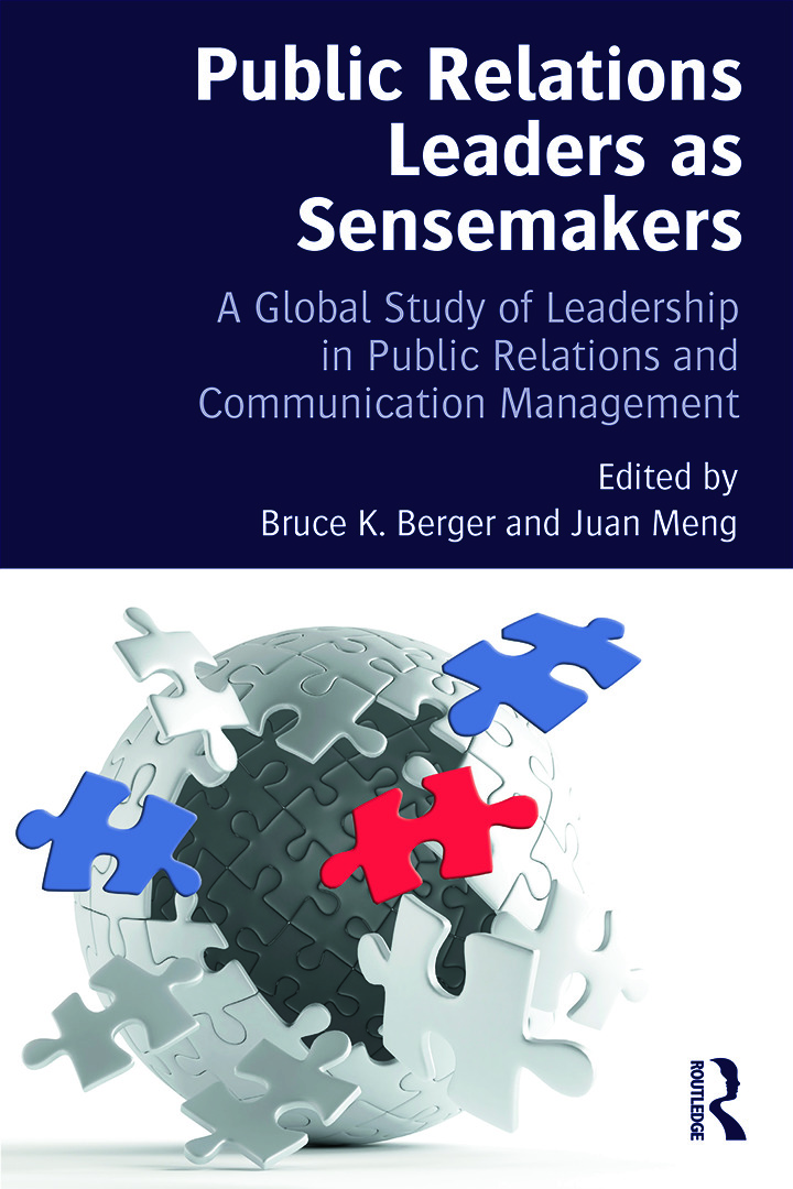 Public Relations Leaders as Sensemakers: A Global Study of Leadership in Public Relations and Communication Management, 1st Edition (Paperback) book cover