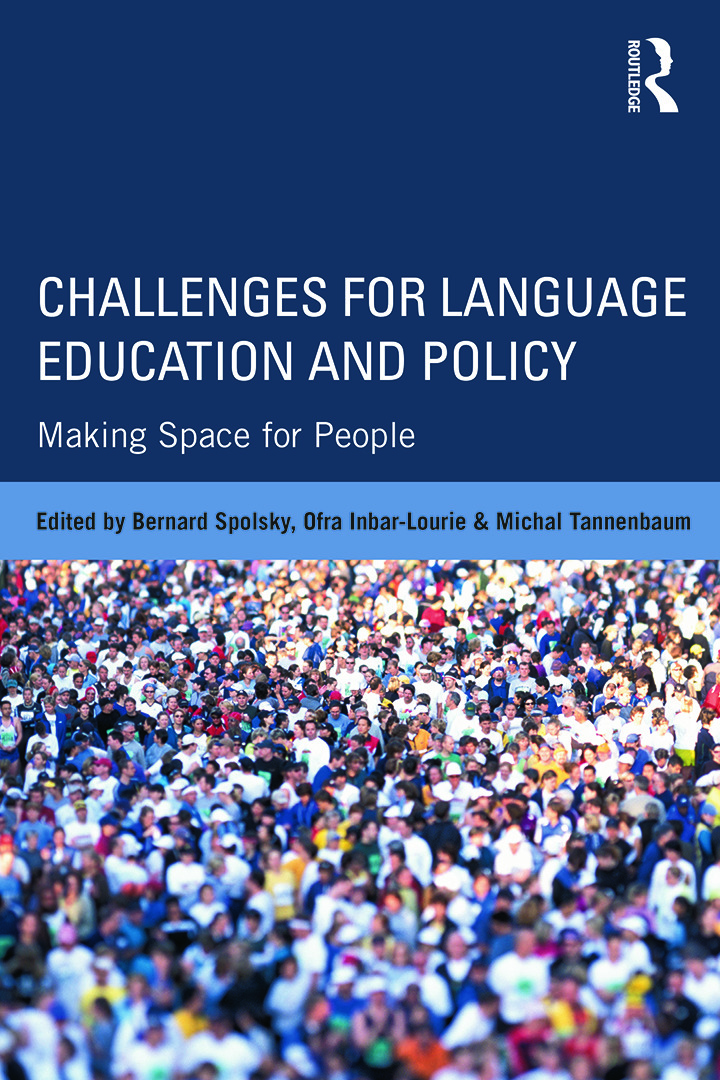 Challenges for Language Education and Policy: Making Space for People, 1st Edition (Paperback) book cover