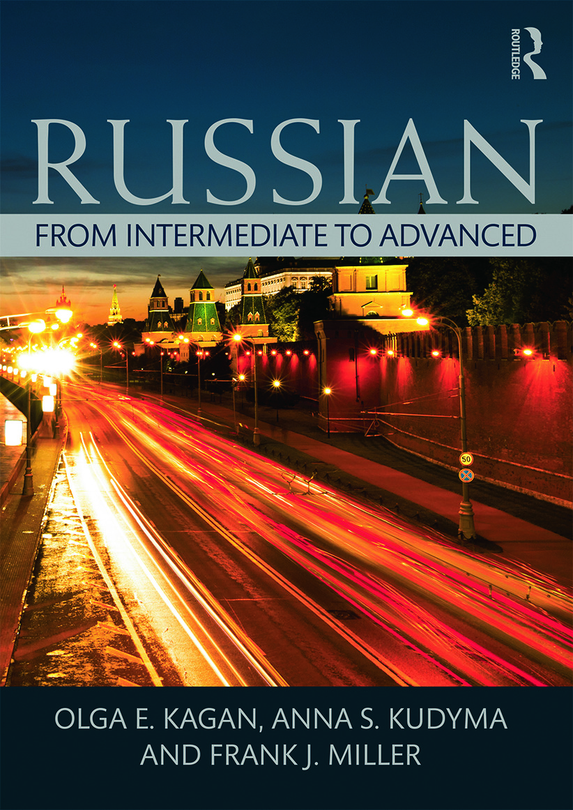 Russian: From Intermediate to Advanced (Paperback) book cover