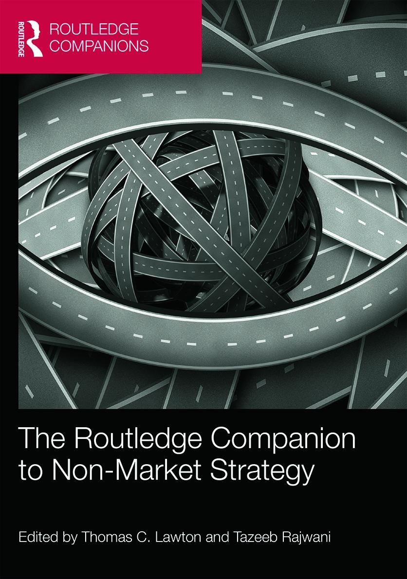 The Routledge Companion to Non-Market Strategy (Hardback) book cover
