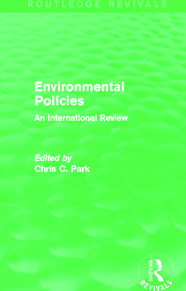 Environmental Policies (Routledge Revivals): An International Review, 1st Edition (Paperback) book cover