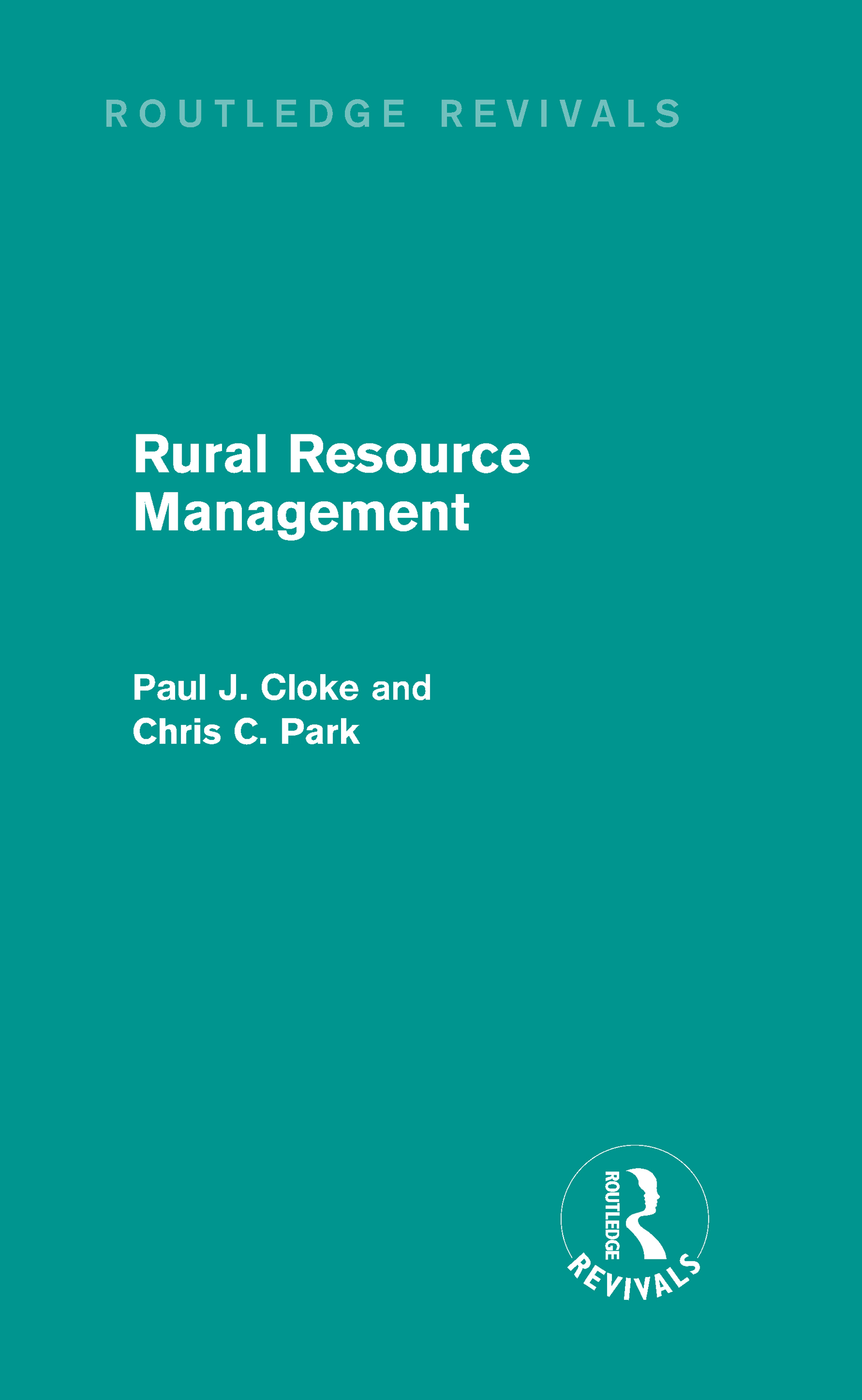 Rural Resource Management (Routledge Revivals) (Hardback) book cover