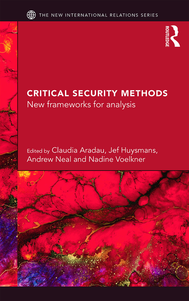Critical Security Methods: New frameworks for analysis, 1st Edition (Paperback) book cover