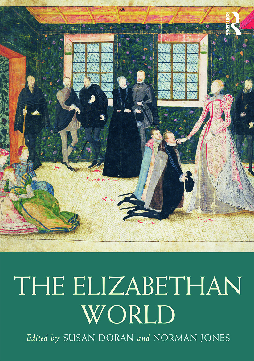 The Elizabethan World: 1st Edition (Paperback) book cover