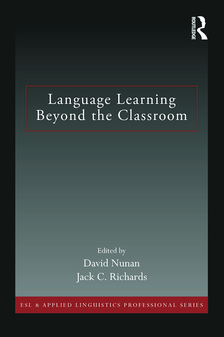 Language Learning Beyond the Classroom: 1st Edition (Paperback) book cover