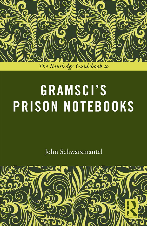 The Routledge Guidebook to Gramsci's Prison Notebooks book cover