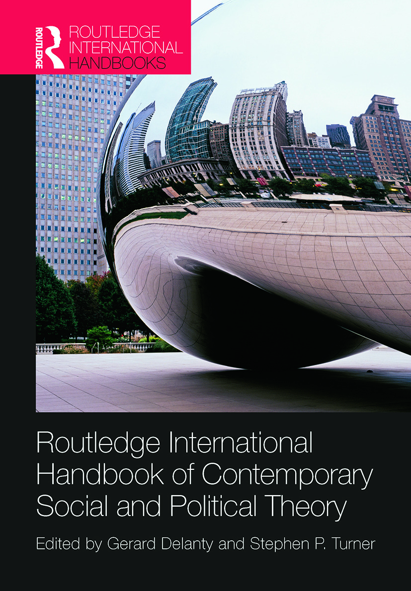Routledge International Handbook of Contemporary Social and Political Theory (Paperback) book cover