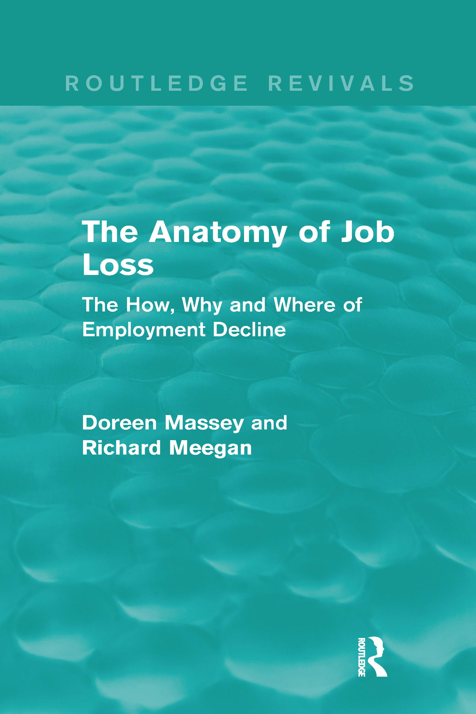 Forms of production reorganization and job loss