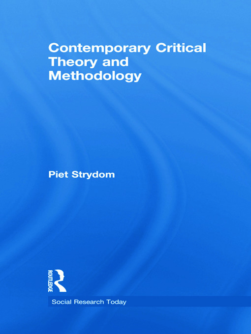 Contemporary Critical Theory and Methodology book cover