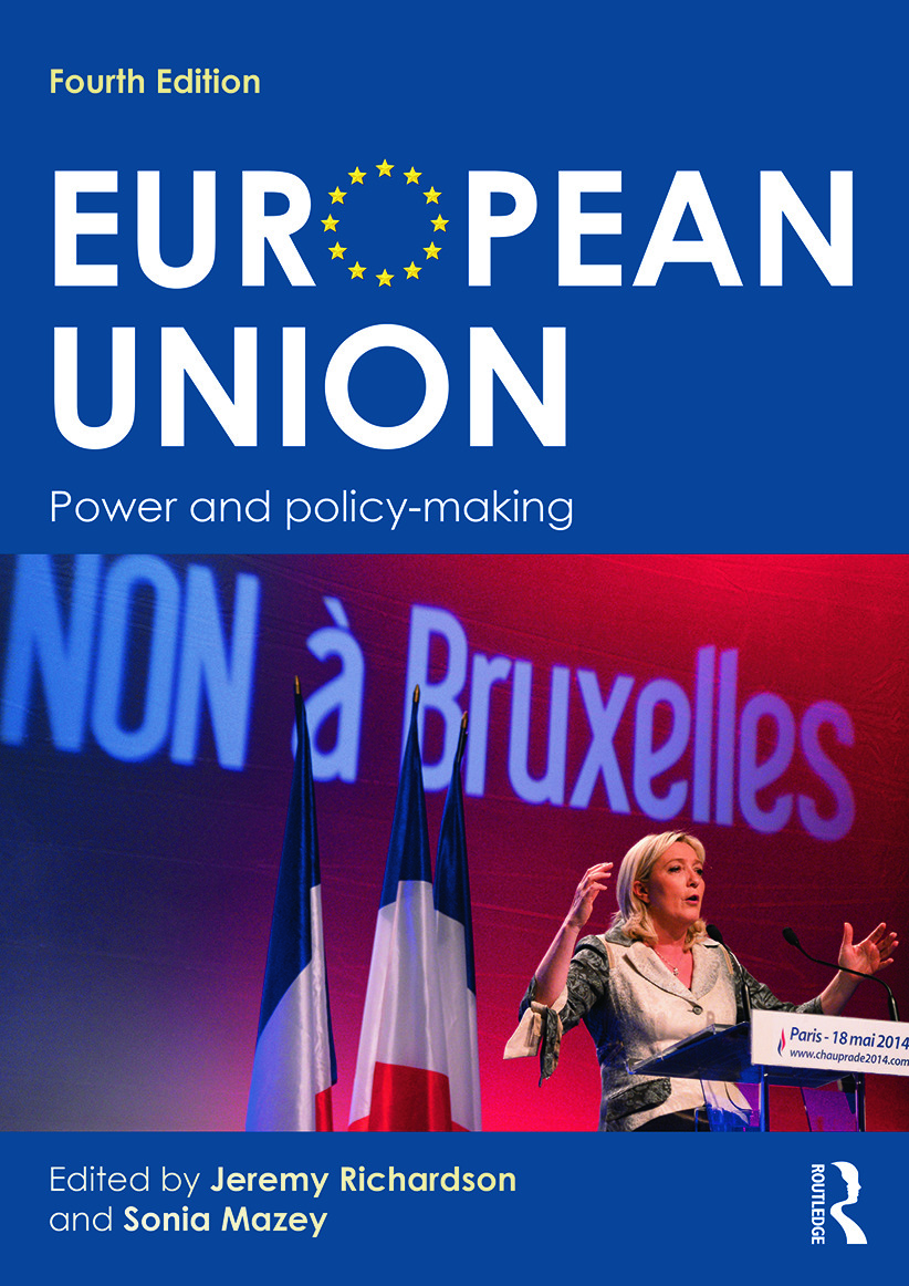 European Union: Power and policy-making, 4th Edition (Paperback) book cover