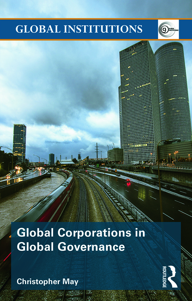 Global Corporations in Global Governance: 1st Edition (Paperback) book cover