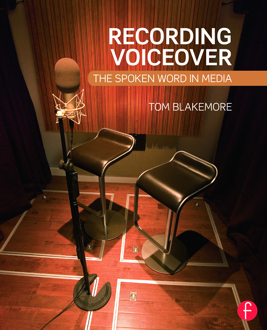 Recording Voiceover: The Spoken Word in Media book cover