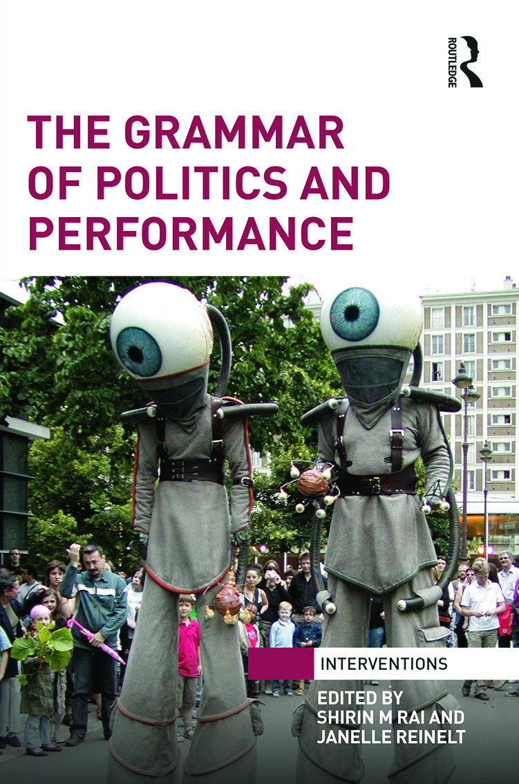 The Grammar of Politics and Performance: 1st Edition (Hardback) book cover