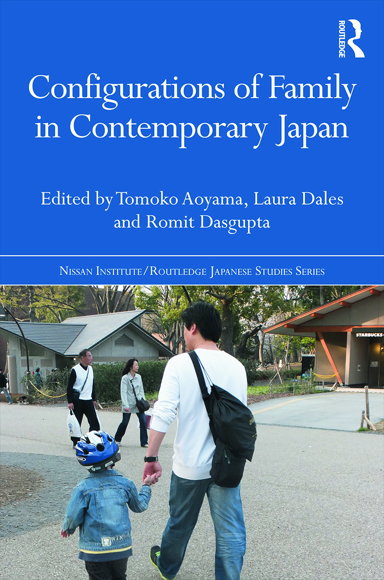 Configurations of Family in Contemporary Japan: 1st Edition (Paperback) book cover