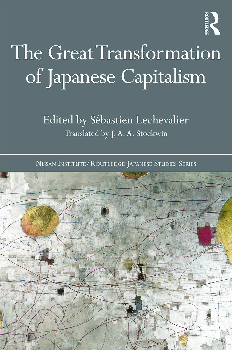 The Great Transformation of Japanese Capitalism (Hardback) book cover