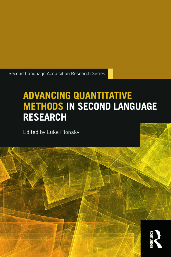 Advancing Quantitative Methods in Second Language Research