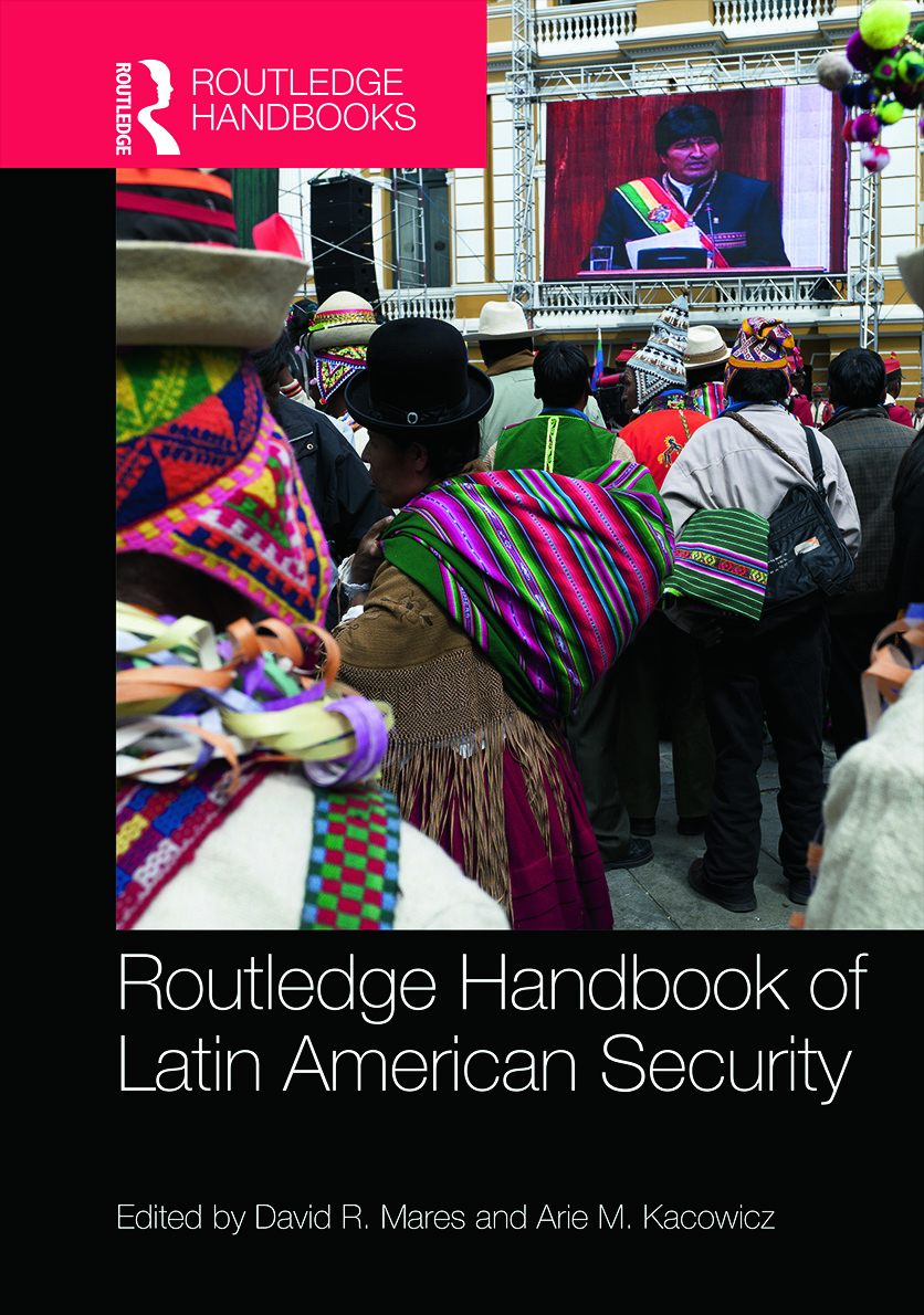 Routledge Handbook of Latin American Security (Hardback) book cover