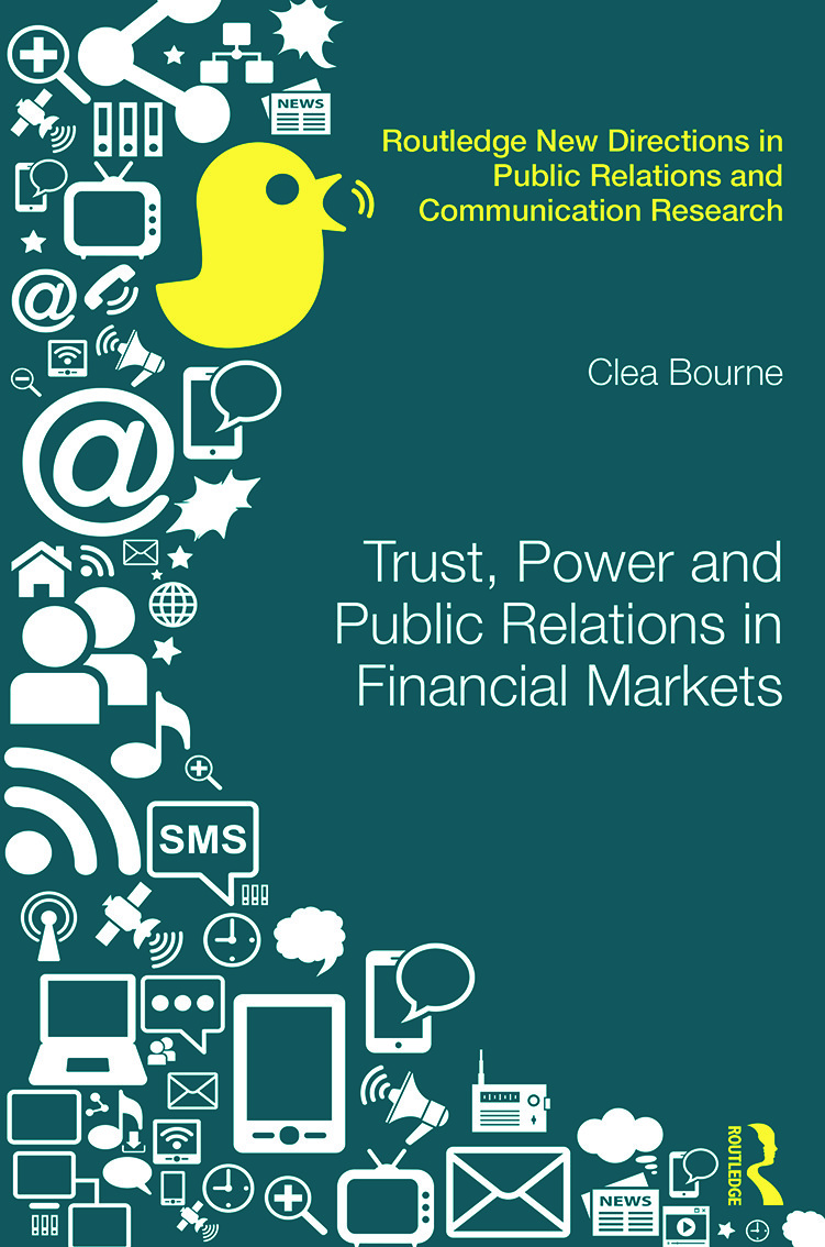 Trust, Power and Public Relations in Financial Markets book cover
