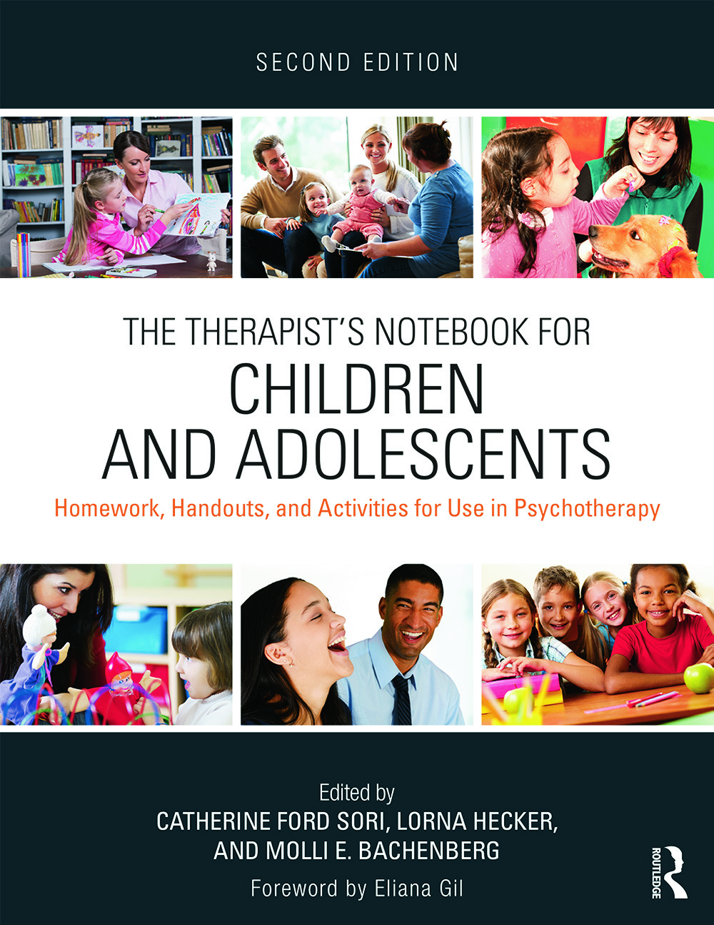 The Therapist's Notebook for Children and Adolescents: Homework, Handouts, and Activities for Use in Psychotherapy book cover