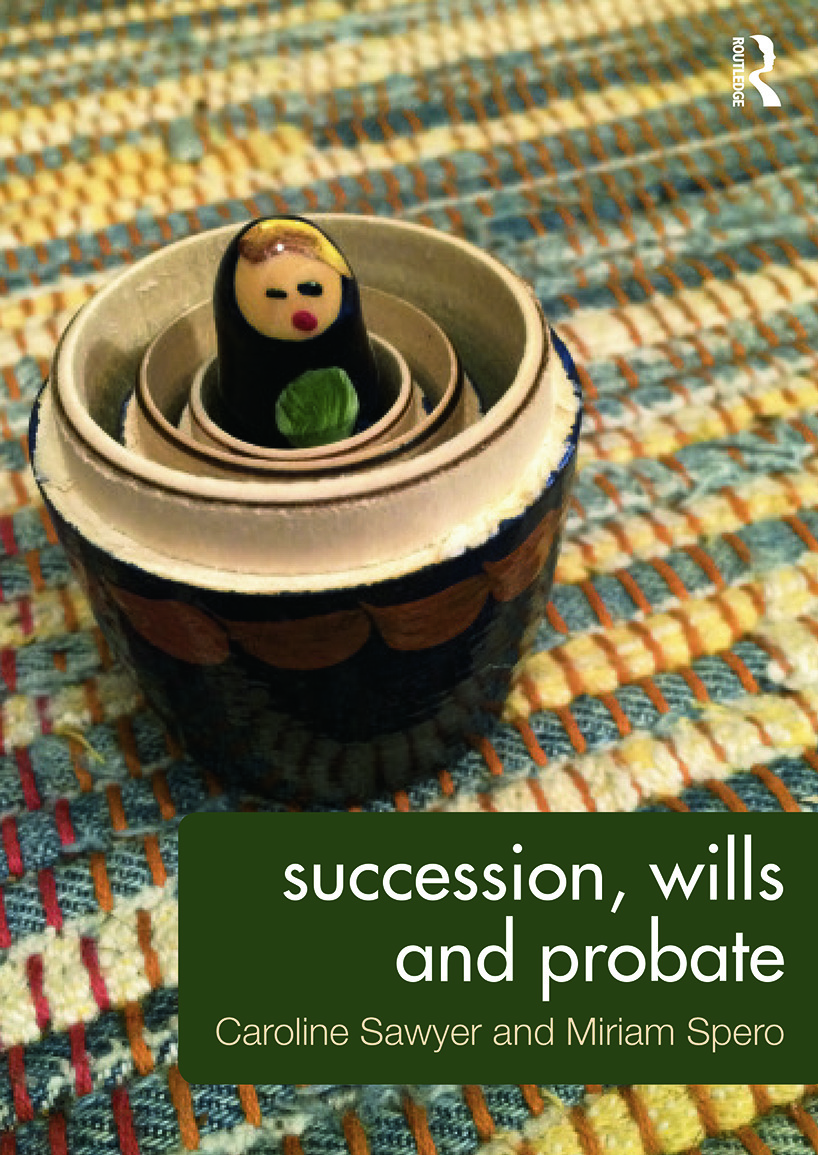 Succession, Wills and Probate book cover
