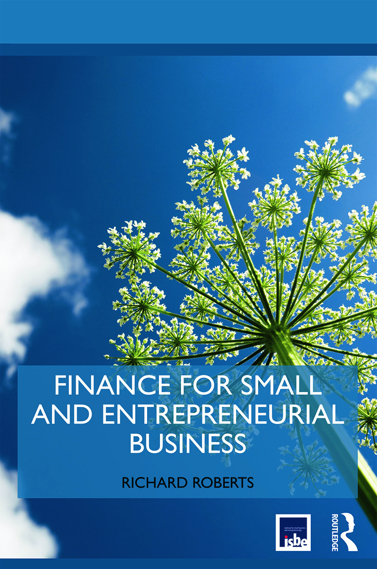 Finance for Small and Entrepreneurial Business book cover