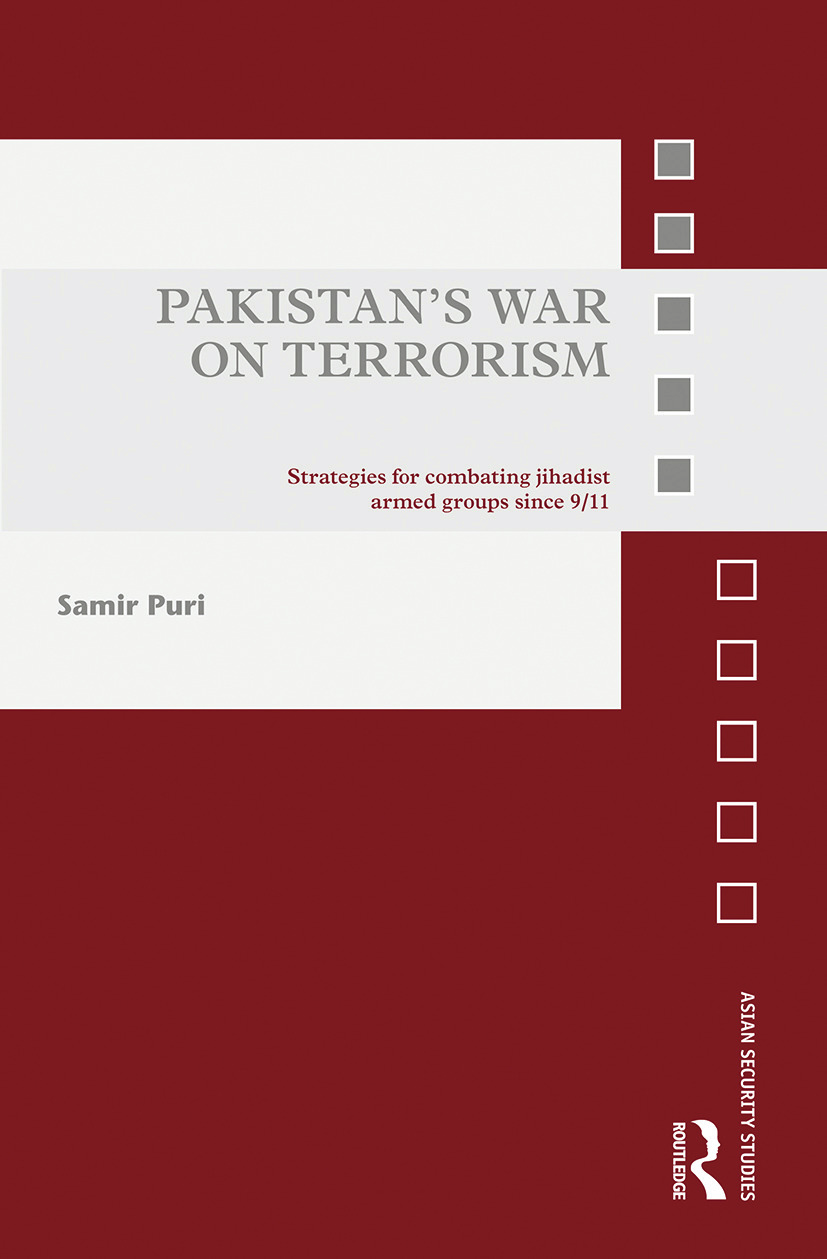 Pakistan's War on Terrorism: Strategies for Combating Jihadist Armed Groups since 9/11 book cover