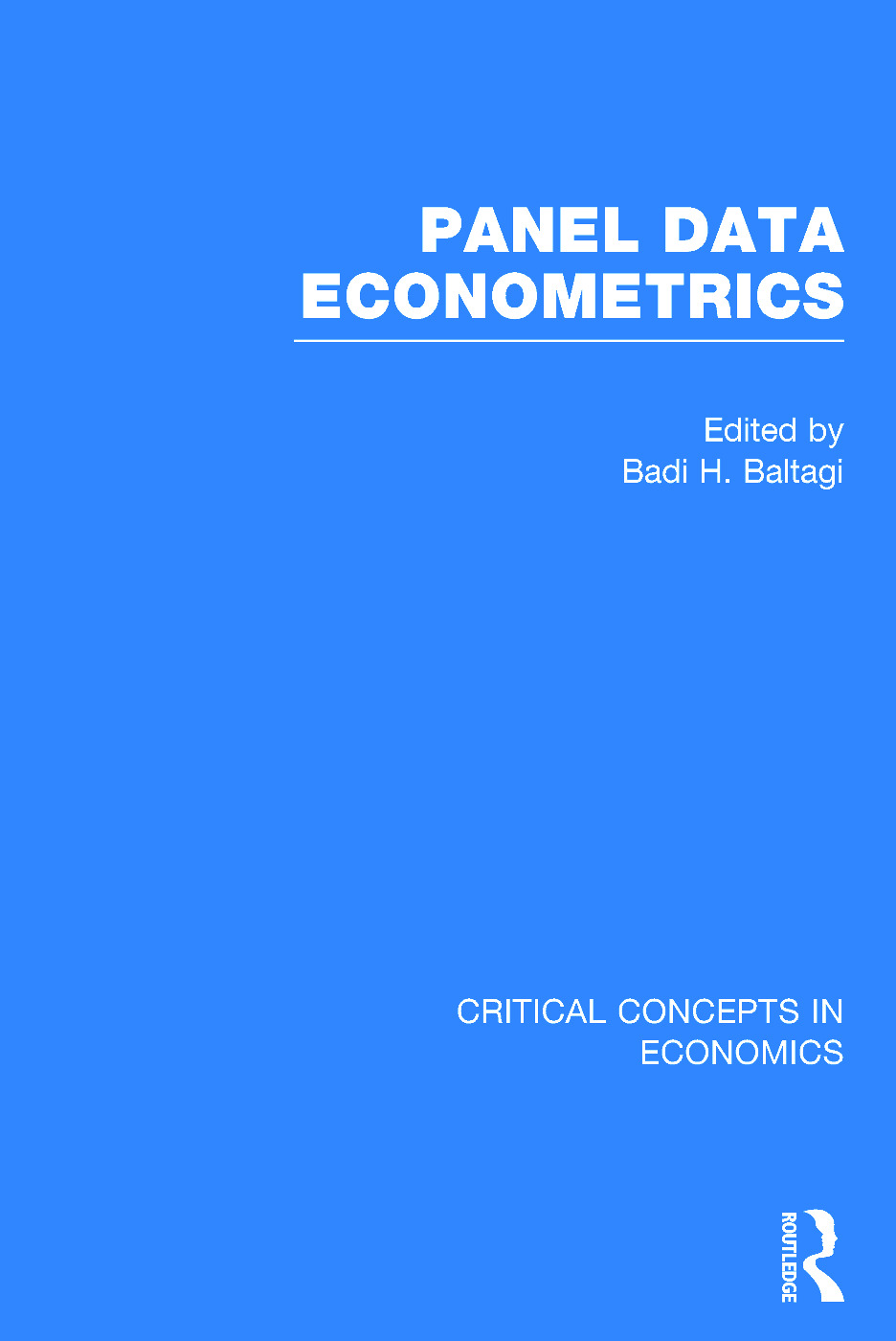 Panel Data Econometrics: 1st Edition (Hardback) book cover