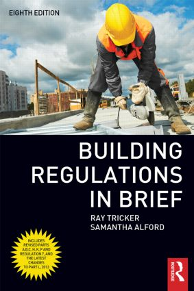 Building Regulations in Brief: 8th Edition (Paperback) book cover