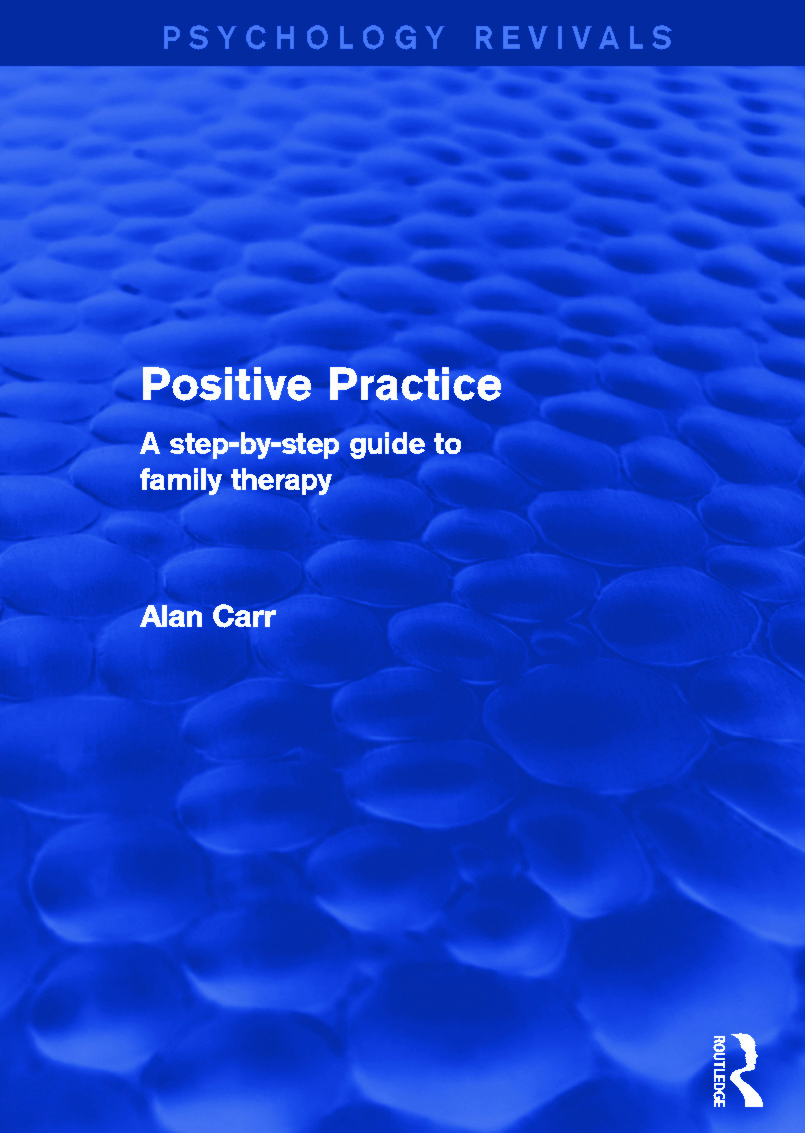 Positive Practice: A Step-by-Step Guide to Family Therapy book cover