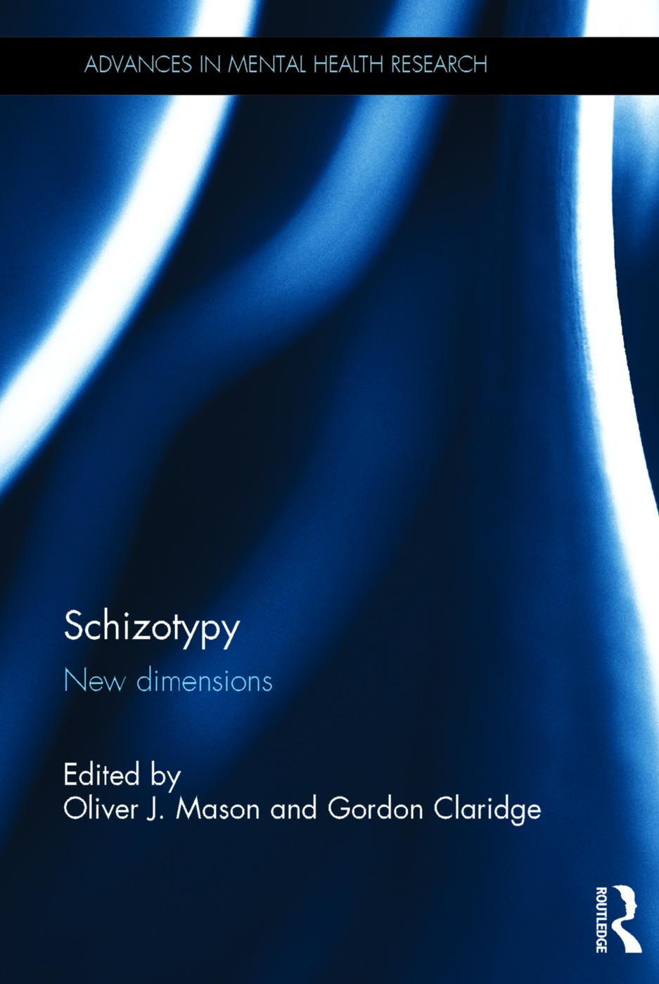 Schizotypy: New dimensions book cover