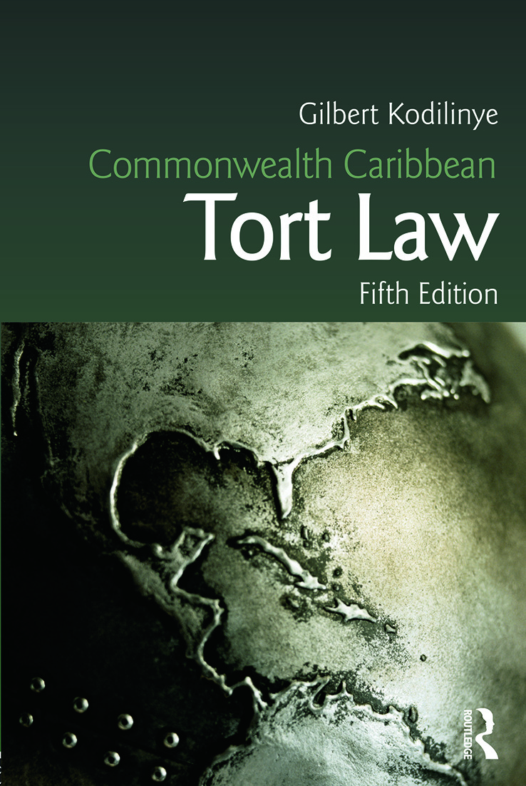 Commonwealth Caribbean Tort Law book cover