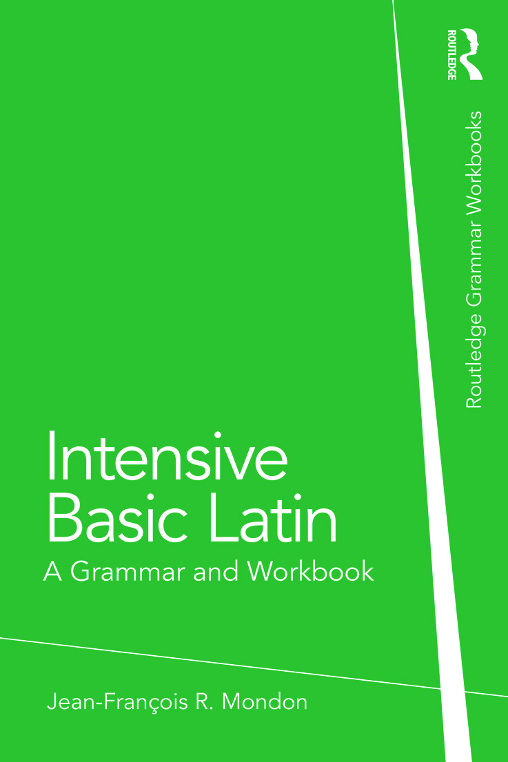 Intensive Basic Latin: A Grammar and Workbook book cover