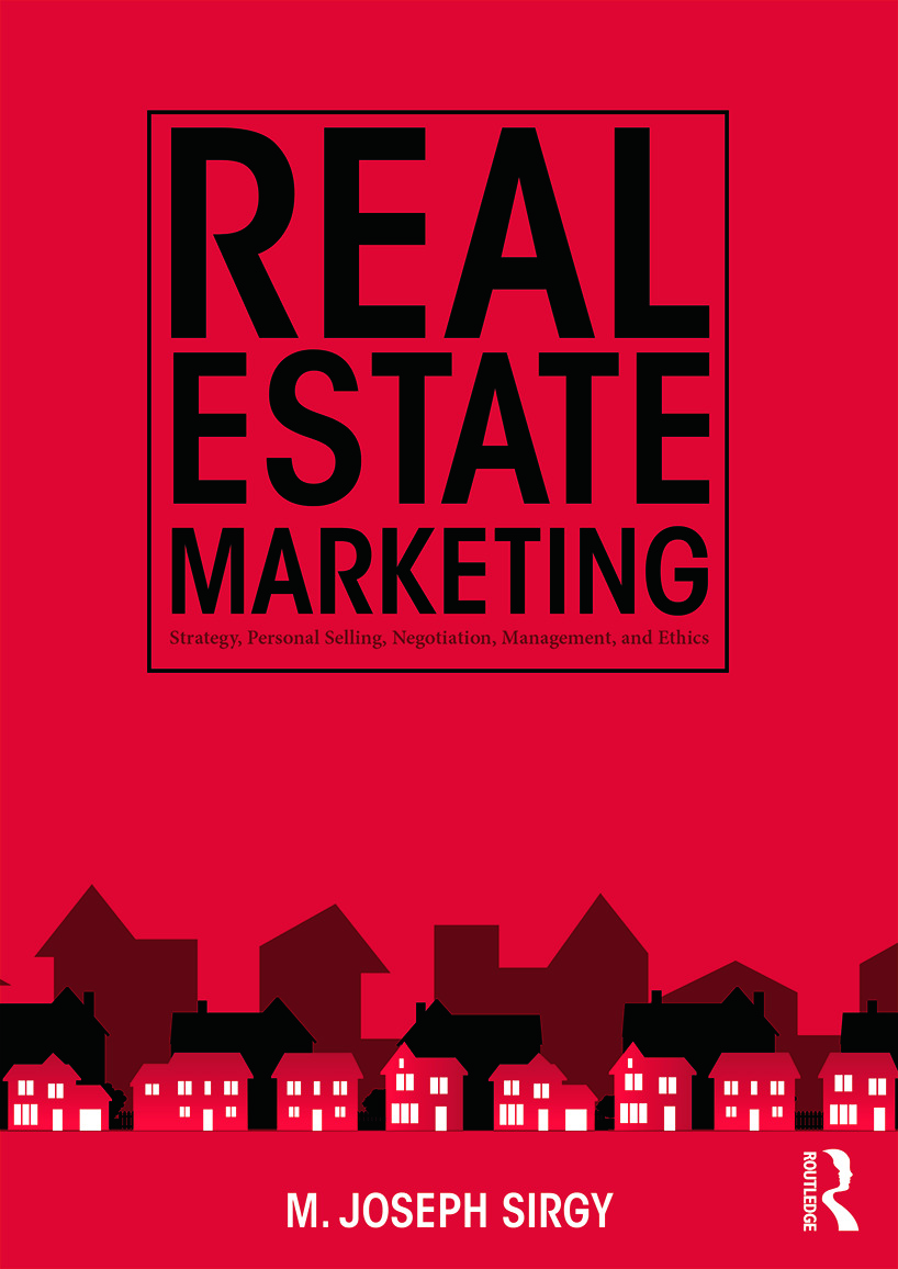 Real Estate Marketing: Strategy, Personal Selling, Negotiation, Management, and Ethics, 1st Edition (Paperback) book cover