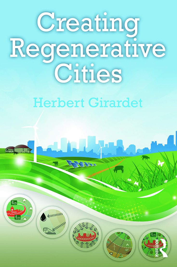 Creating Regenerative Cities (Paperback) book cover