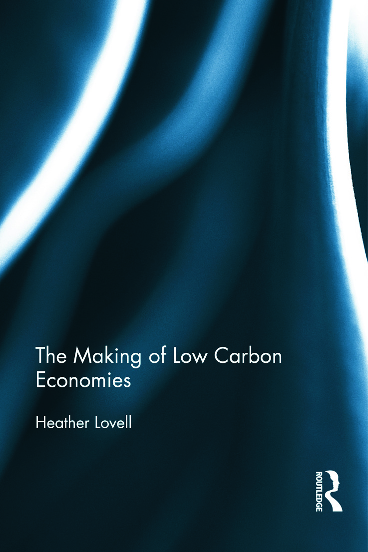 The Making of Low Carbon Economies book cover