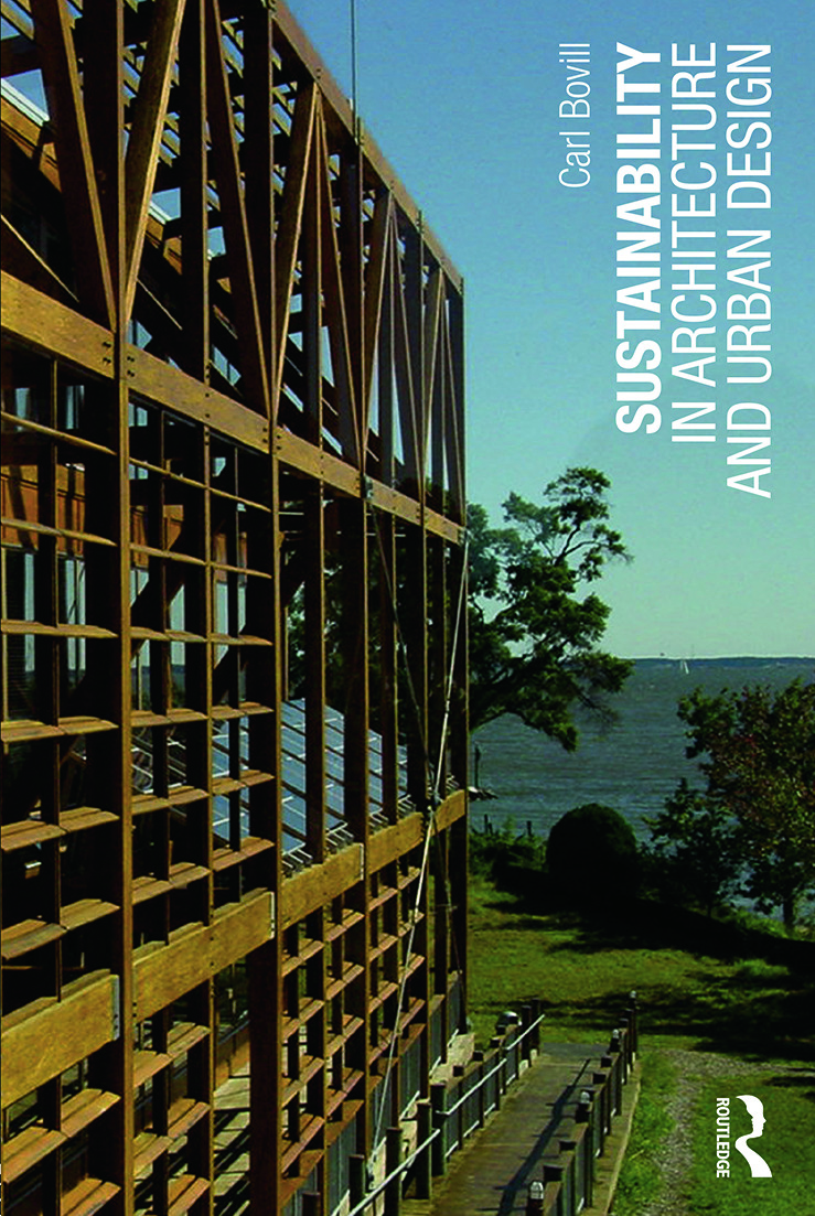 Sustainability in Architecture and Urban Design: 1st Edition (Paperback) book cover