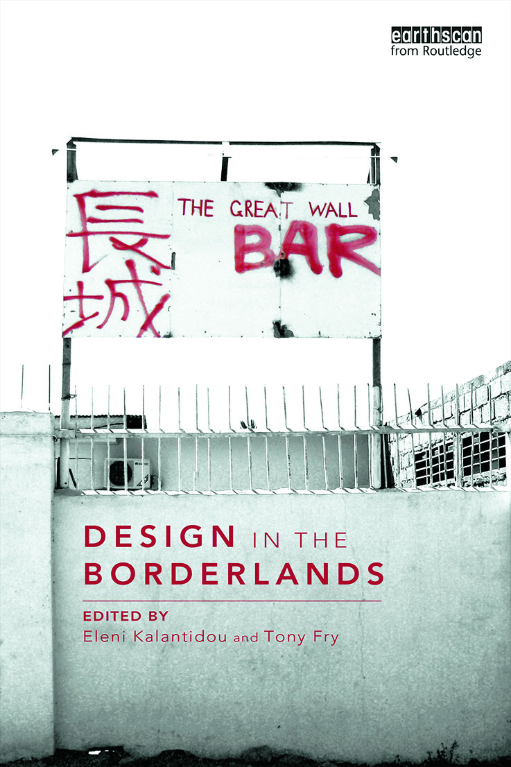 Design in the Borderlands (Paperback) book cover