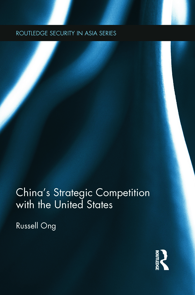 China's Strategic Competition with the United States book cover