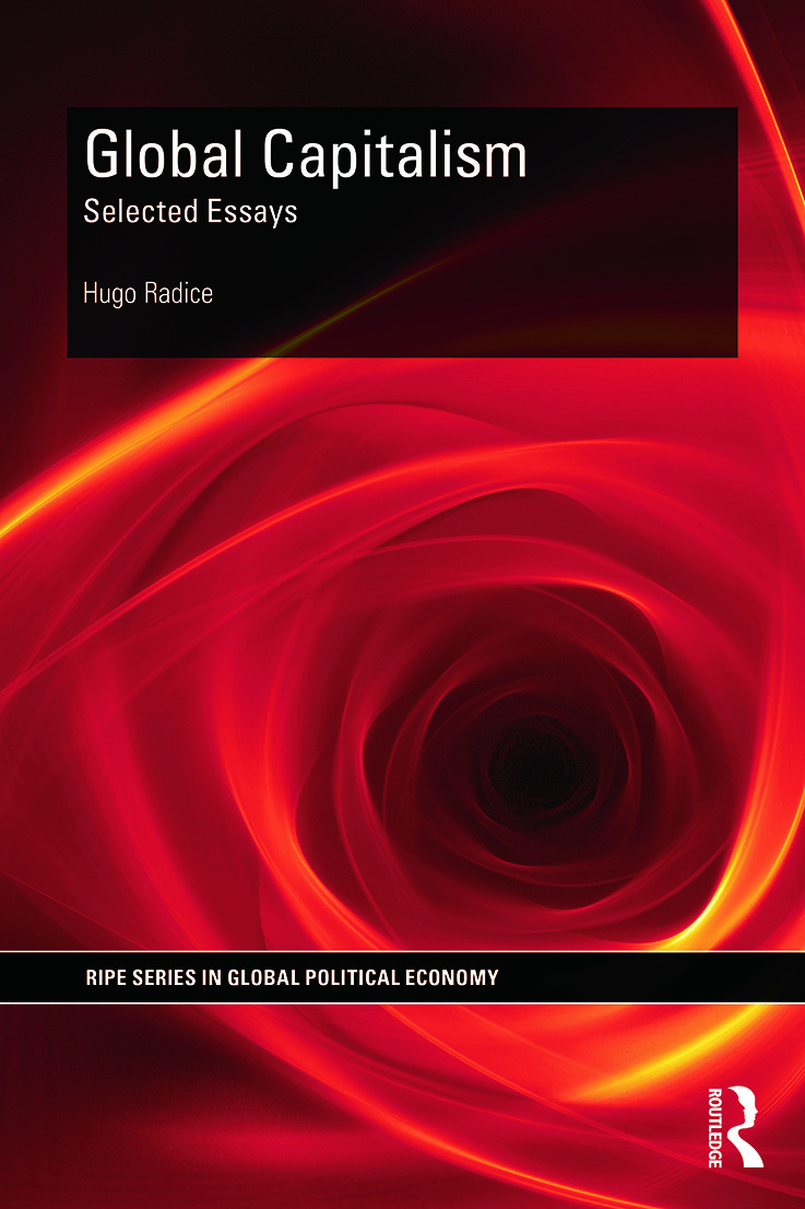 Global Capitalism: Selected Essays book cover