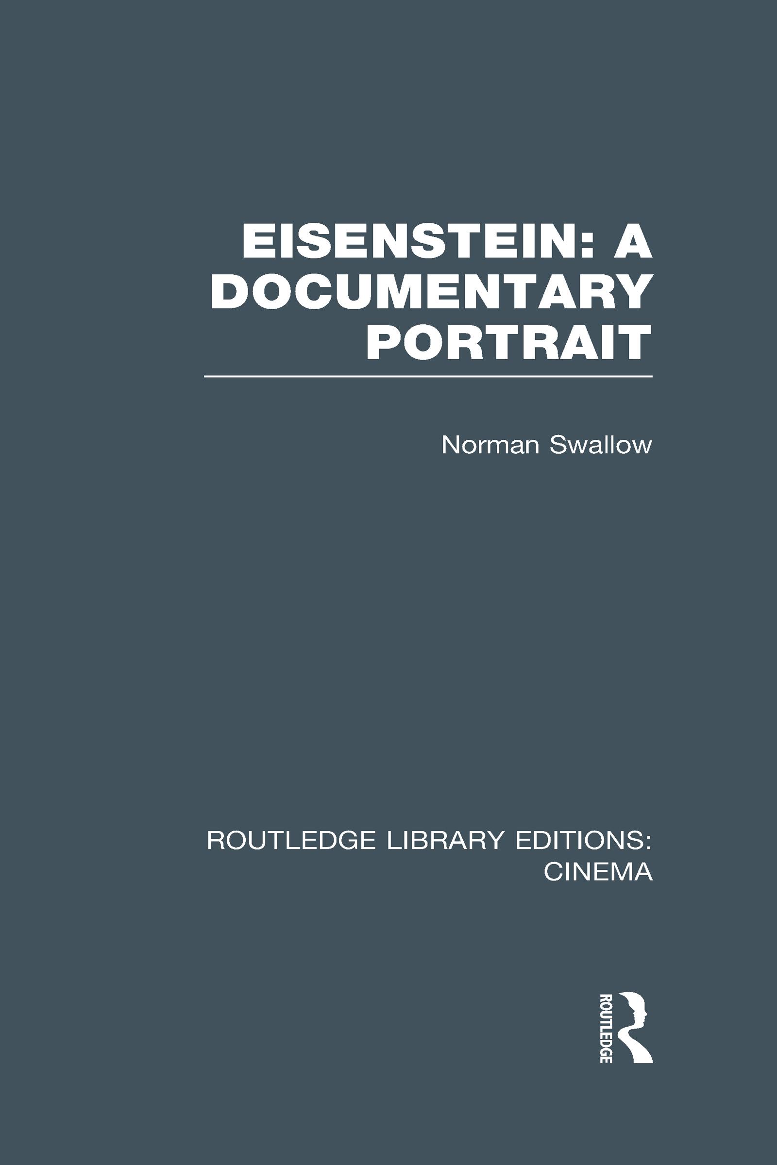Eisenstein: A Documentary Portrait (Hardback) book cover