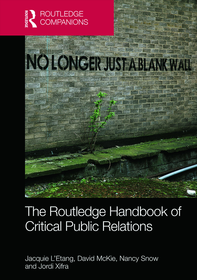 The Routledge Handbook of Critical Public Relations (Hardback) book cover