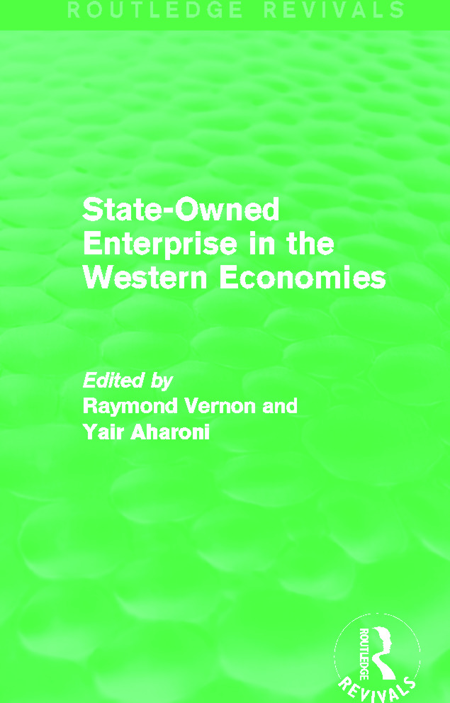 State-Owned Enterprise in the Western Economies (Routledge Revivals) book cover