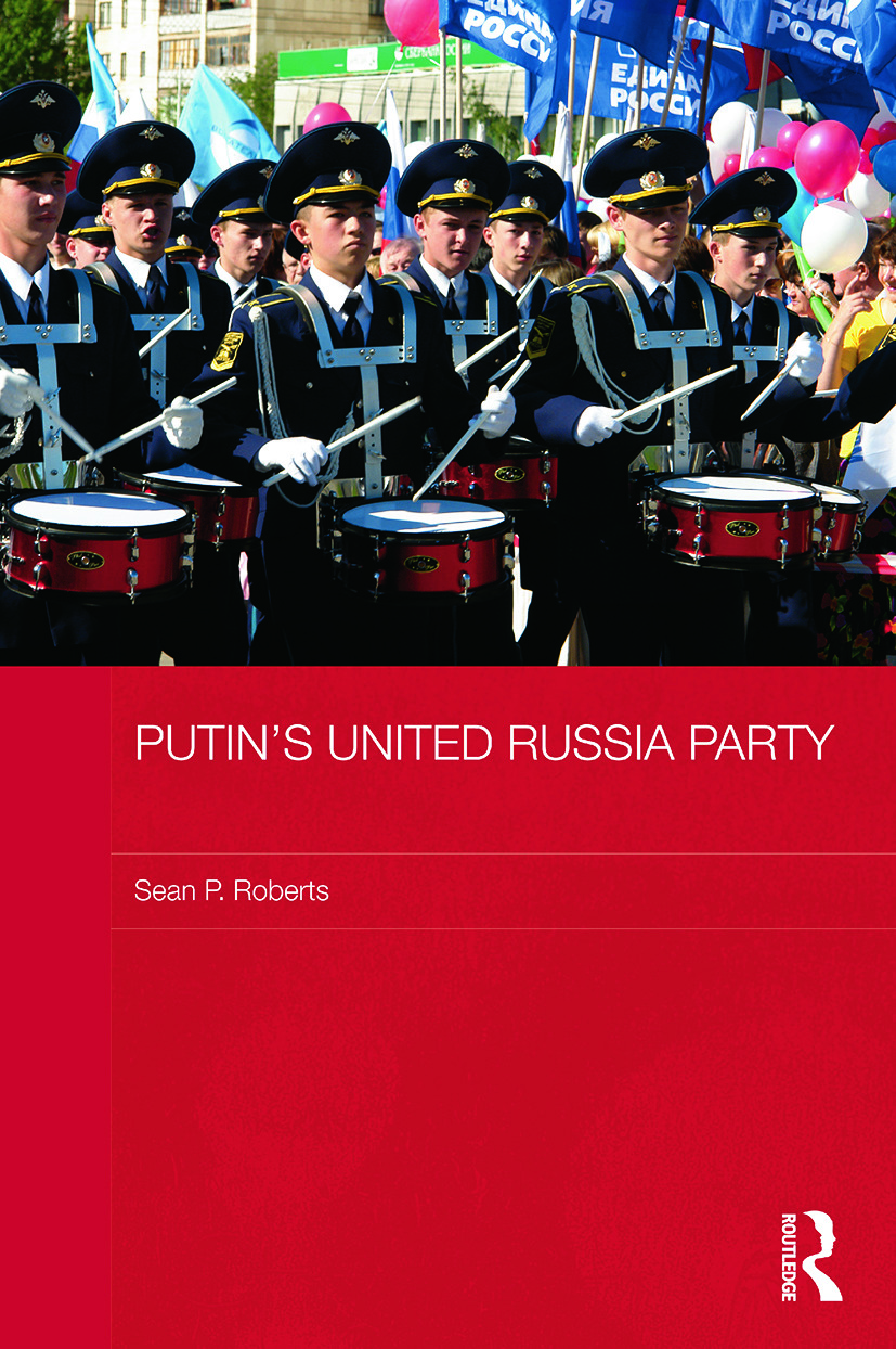 Putin's United Russia Party book cover