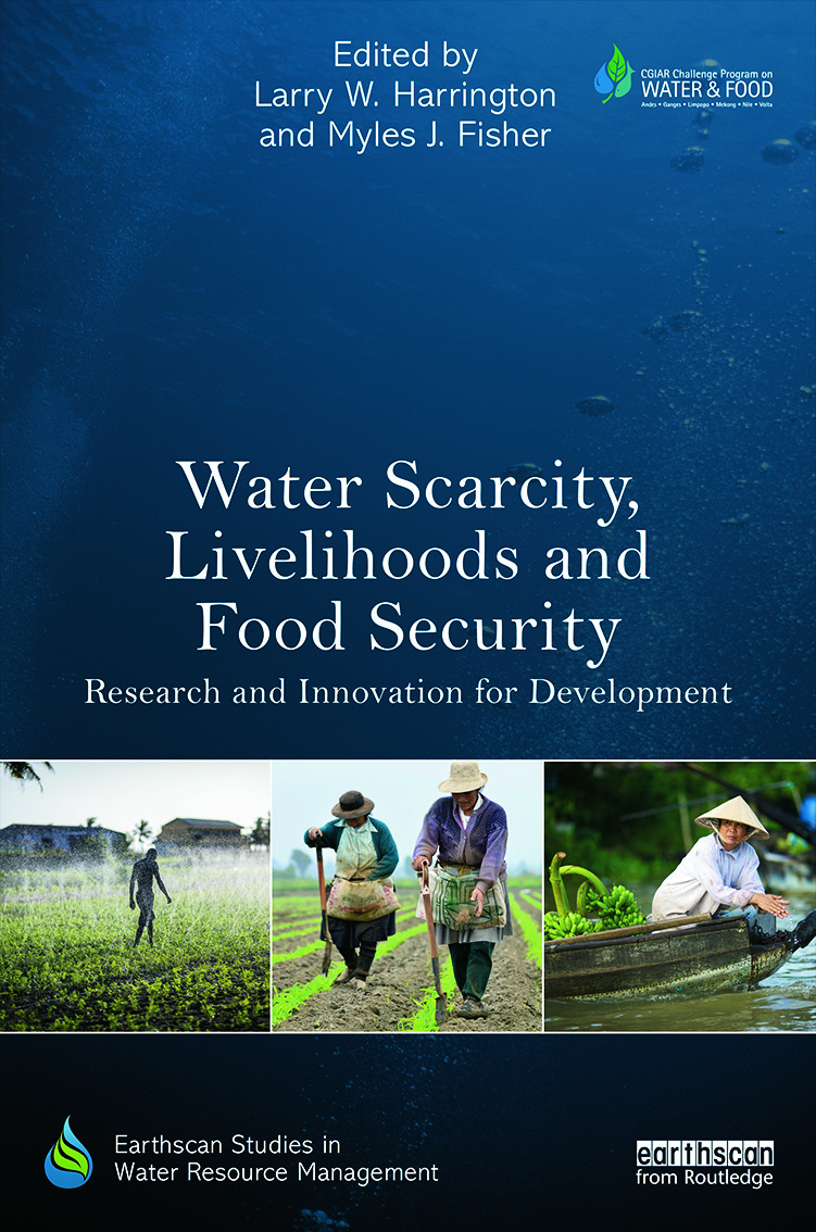 Water Scarcity, Livelihoods and Food Security: Research and Innovation for Development (Paperback) book cover