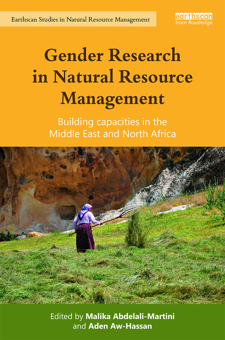 Gender Research in Natural Resource Management: Building Capacities in the Middle East and North Africa (Hardback) book cover