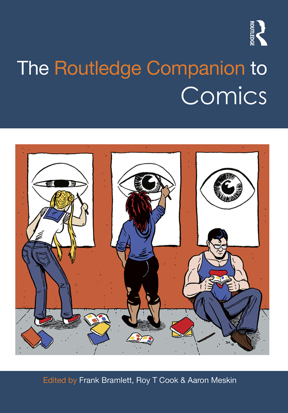 The Routledge Companion to Comics: 1st Edition (Hardback) book cover
