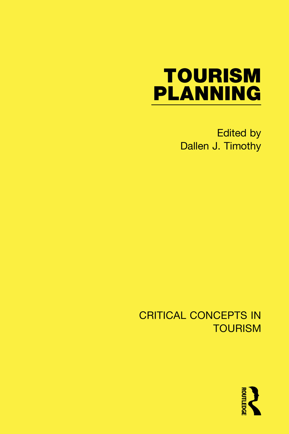 Tourism Planning: 1st Edition (Hardback) book cover