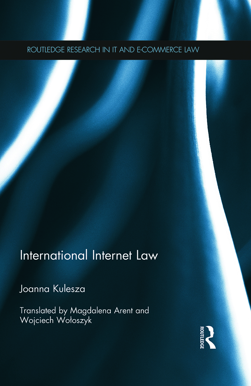International Internet Law: 1st Edition (Paperback) book cover