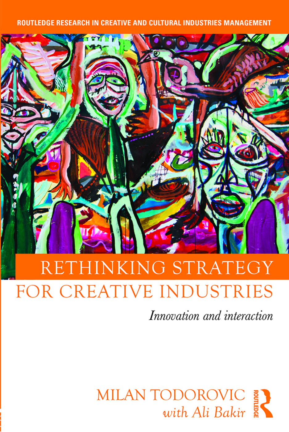 Rethinking Strategy for Creative Industries: Innovation and Interaction book cover