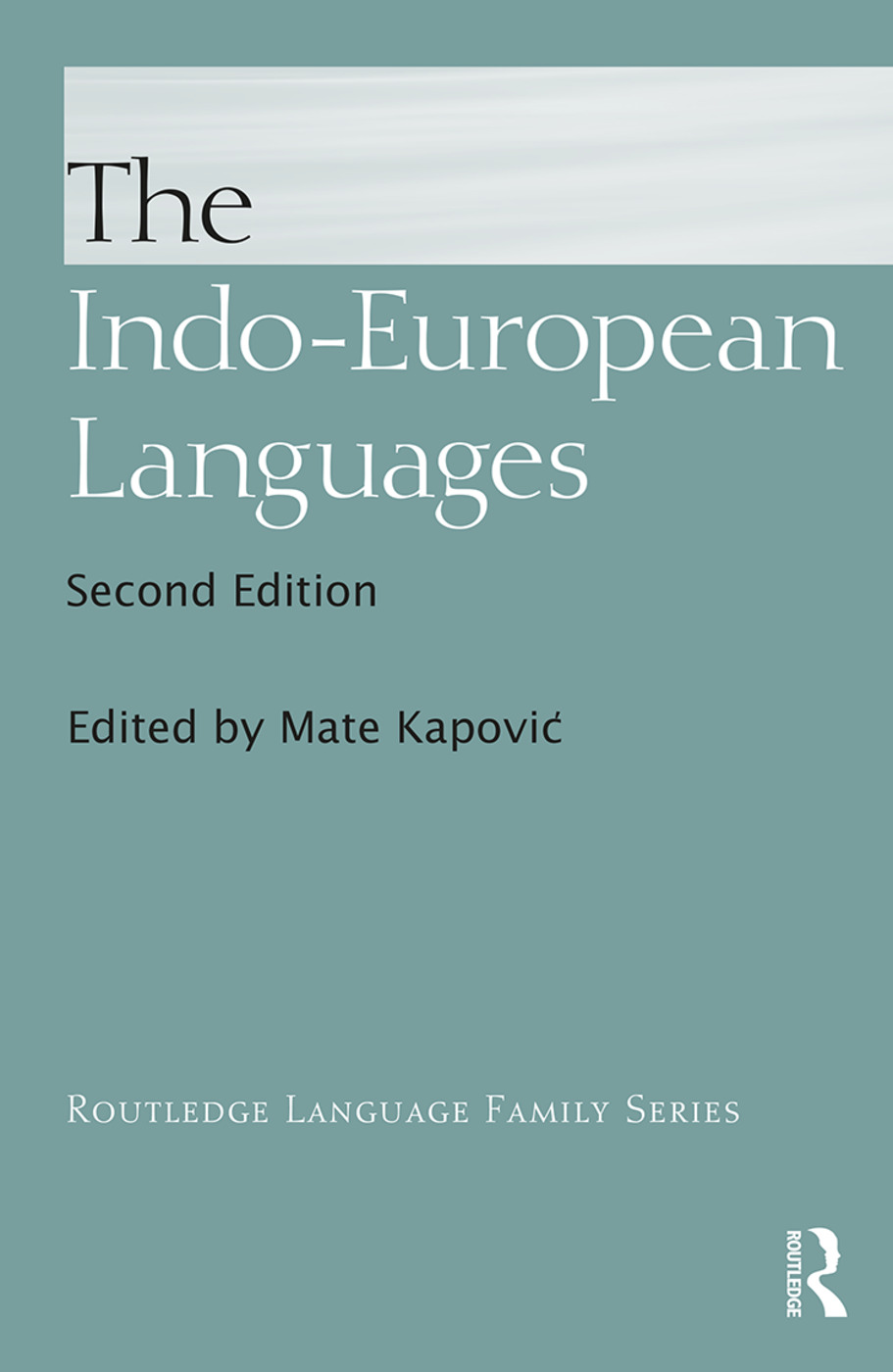 The Indo-European Languages book cover